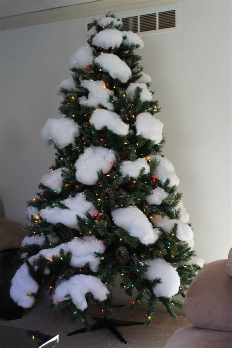 where to put christmas tree snow covered christmas tree endeavors of a girl