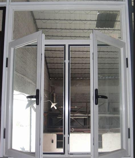 Aluminium Rumah Kopling Grand 1 bingkai aluminium tingkap jendela dengan grill desain