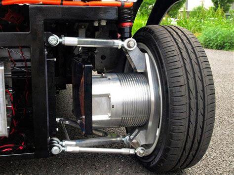 wheel hub motor electric car wireless in wheel motor system developed for electric