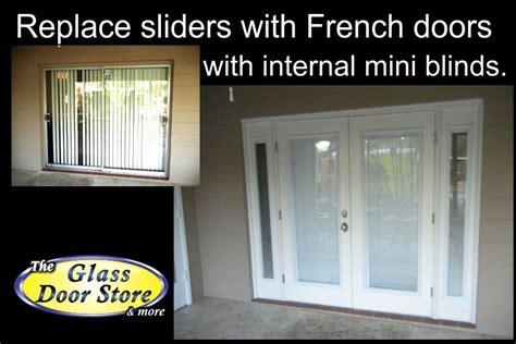 How To Replace Glass In A Door Replace Sliding Glass Door With Doors