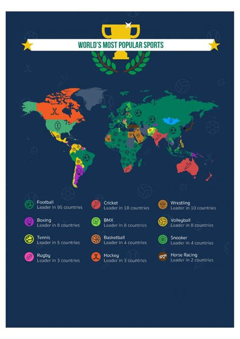 world s most popular sports infographic epidemicfun