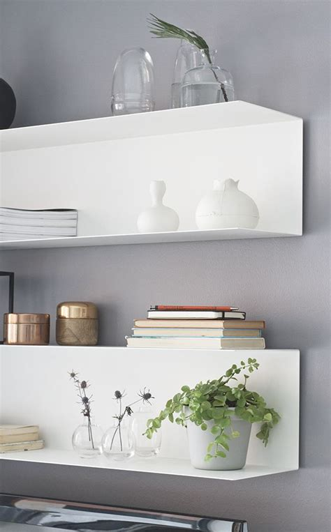 ikea floating shelves styling home decorating inspiration