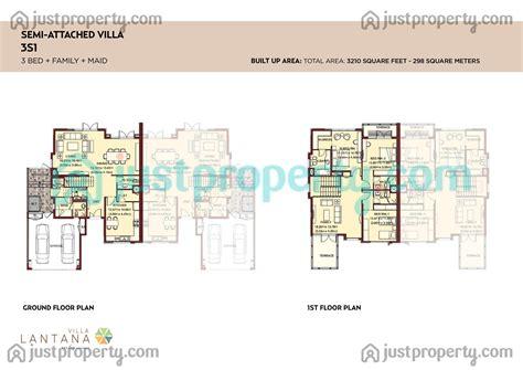 lantana floor plan lantana villas floor plans justproperty com