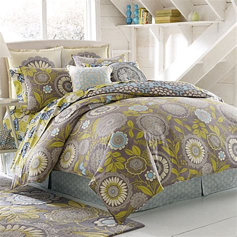 amy butler bedding amy butler lace work 100 organic cotton duvet cover bed