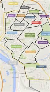 Neighborhoods In Map Of Richmond S East End Neighborhoods Church Hill