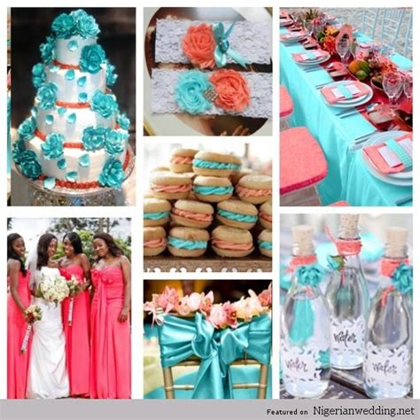 wedding color combinations 4 coral wedding color combination ideas for summer
