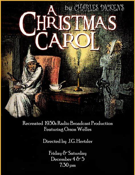 a christmas carol york a christmas carol radio show morgan opera house