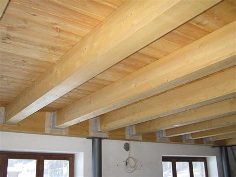 portata travi legno lamellare solaio in legno di rovere lamellare