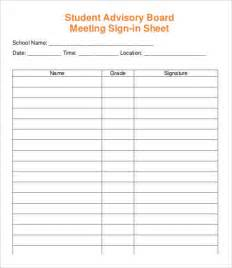 meeting sign in sheet template 13 free pdf documents