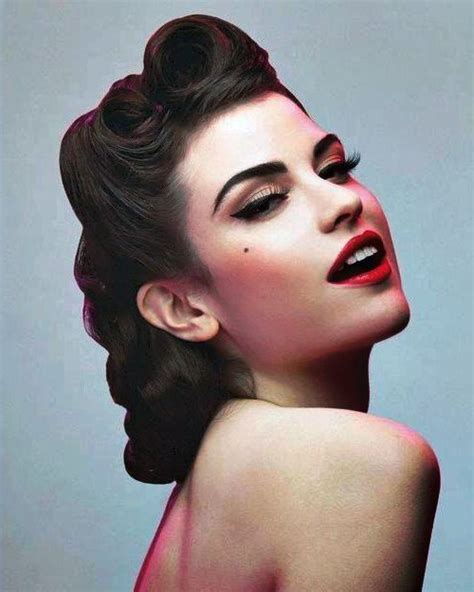fifties hairstyle 50s hairstyles ideas yve style