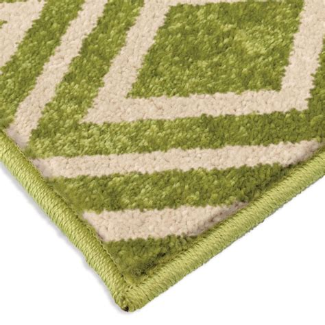 small green rug orian rugs indoor outdoor diamonds trellis green area small rug 2347 5x8 orian rugs
