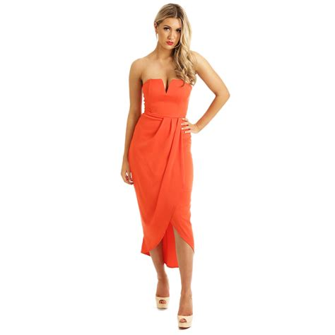 Dresss Orange blood orange dress noodz boutique