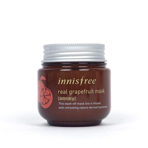 Innisfree Real Grapefruit Mask innisfree real grapefruit mask review