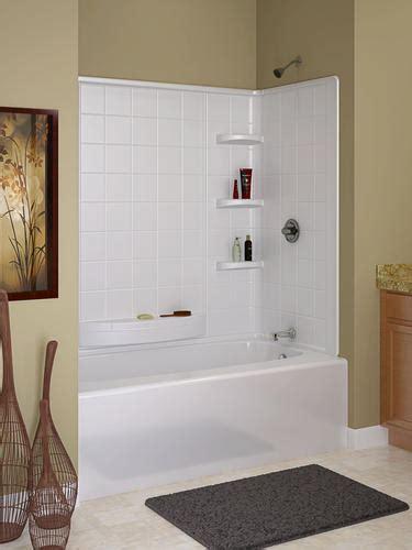 Menards Bathtub Surrounds by Indulgence 60 Quot X 30 Quot 3 Bathtub Wall Set At Menards 174
