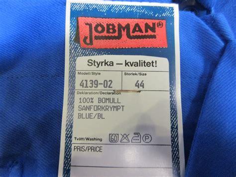 St Overal overall arbetskl 228 der jobman 15 st auktionet