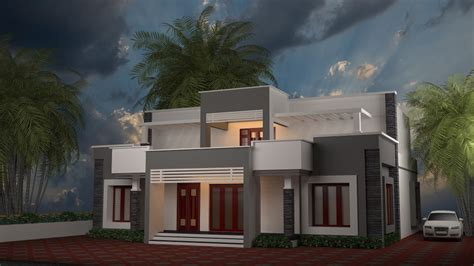 home design for 4 cent contemporary kerala model home plans