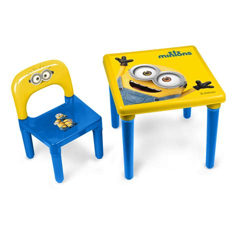 minions activity table chair set with 30