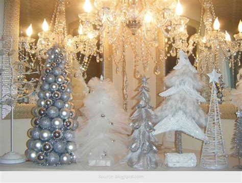 white christmas party decorations
