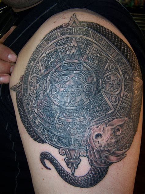 Aztec Woman Tattoo Designs     Images
