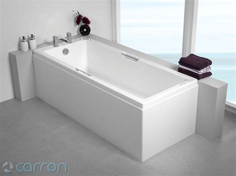 quantum shower bath carron quantum integra single ended acrylic bath 1700 x