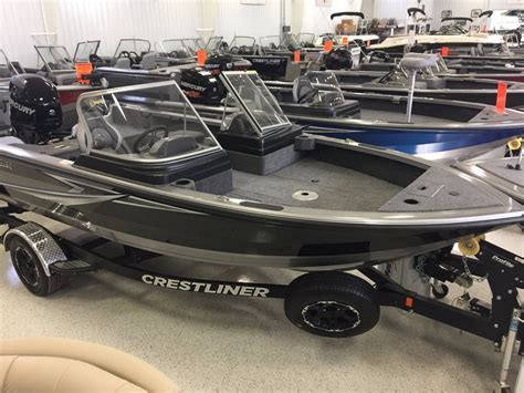 crestliner raptor boats freshwater fishing crestliner 1850 raptor boats for sale