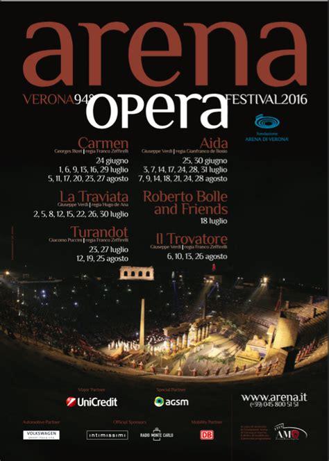 Calendario Arena 2016 Apre Il Calendario Dell Opera 2016 All Arena Di Verona