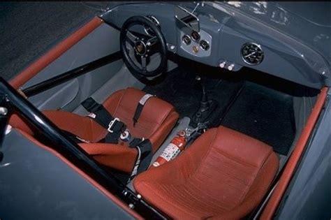 outlaw porsche interior 1954 porsche 356 roadster outlaw vintage racer interior