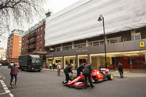 ferrari dealership ferrari dealership named world s best gets 2015 f1 car