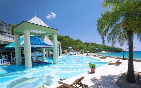 sandals la toc spa resort honeymoon resorts in st lucia