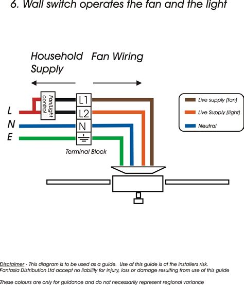 ceiling lighting wiring a ceiling fan with light diagram