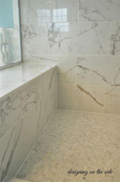 Bathroom Tile Showers Designing On The Side Master Bath Reveal