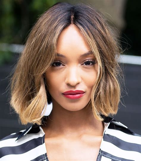 jordan dunn short hair from red lips to pink hair the best celeb beauty looks of
