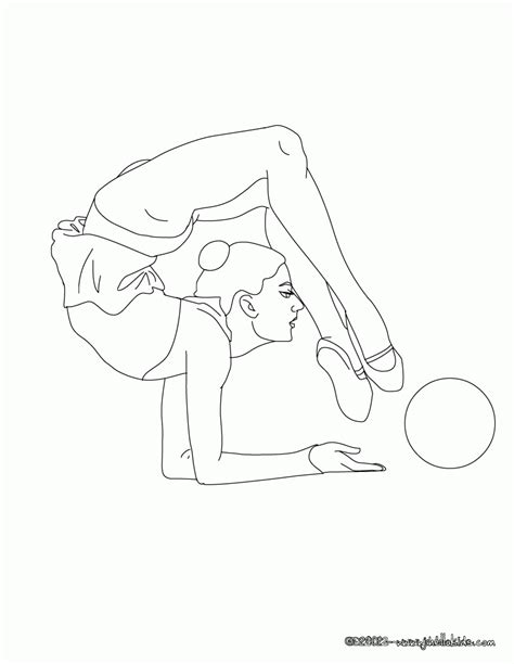 gymnastics coloring pages beam coloring pages of gymnastics coloring home