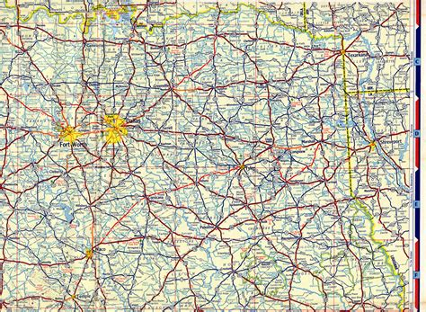texas county road map 1954 chevron texas road map maps