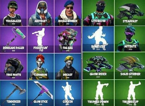 fortnite leaked skins new fortnite season 4 skins leaked liteshow and