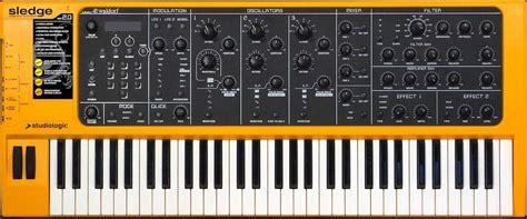 Keyboard Imperion Sledgehammer 7 studiologic sledge analog synthesizer encyclotronic