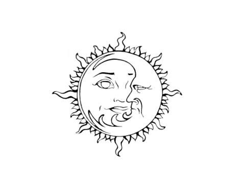 moon tattoo png tumblr png black and white google търсене stuff