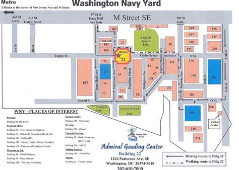 washington dc map navy yard services mccs 8th and i