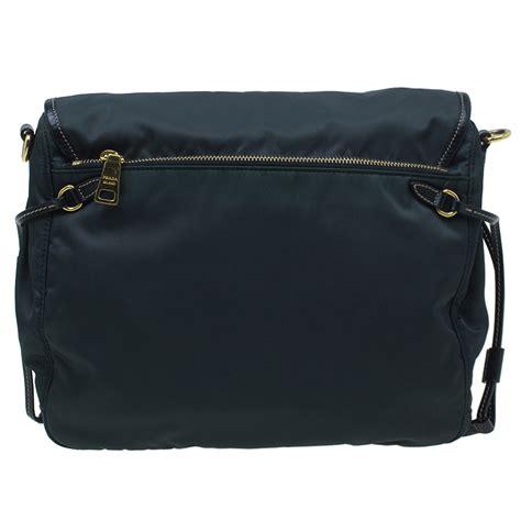 Prada Lc 1ba106 Black prada black and leather crossbody bag buy sell lc