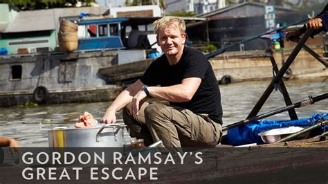 libro gordons great escape about the show gordon ramsay s great escape bbc america