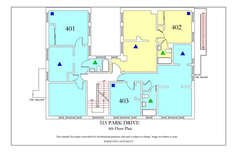 bu housing floor plans 515 park drive 187 housing boston university