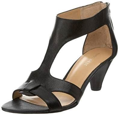 9 West S Sandals by Nine West S Anya Ankle Sandal Black Leather 5 M Us Flats