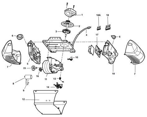 garage door schematic diagram wiring diagram with