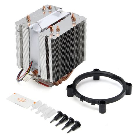 Cpu Cooler Lga Fan Lga775 Pc Cooler ultra computer cpu cooler fan cpu cooler heatsink four heat pipe radiator for intel lga775