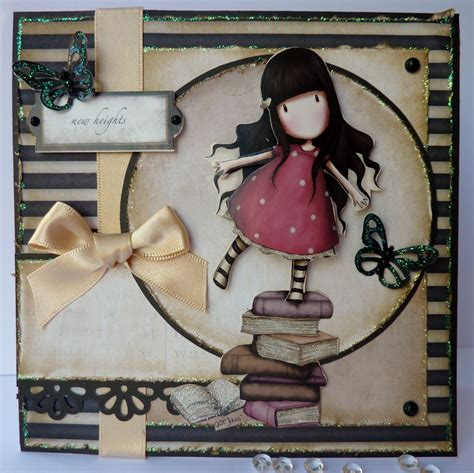 Gorjuss Decoupage - s lovely cards mojo monday meets another gorjuss