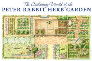 herb garden plan peter rabbit hops to gold at chelsea