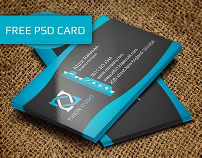 https www behance net gallery 23501915 creative business card template freebie freebie creative business card on behance