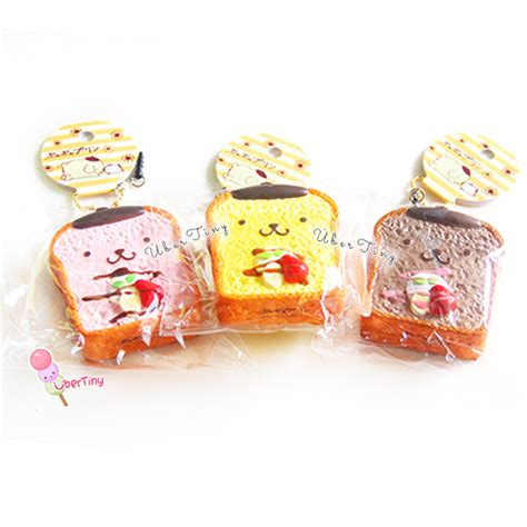 Squishy Licensed pom pom purin toast squishy licensed 183 uber tiny 183 store powered by storenvy