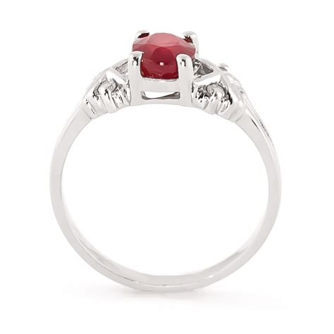 14k white gold 1 35ct ruby ring gj4598w gifted jewelry