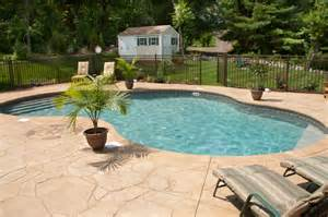 which pool deck material is right for you hfs financial